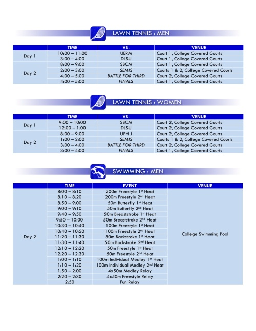 Schedule of Games3